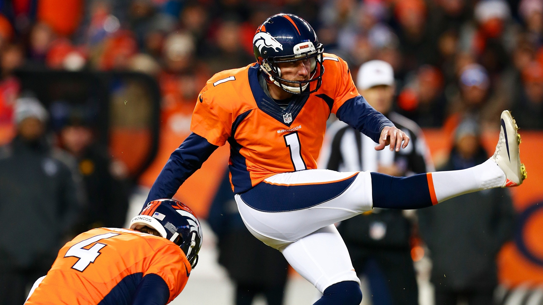 Connor Barth welcomes kicking competition at Denver Broncos camp