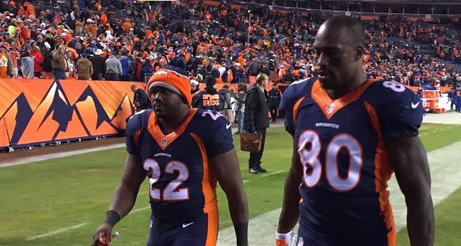 Denver Broncos tight end Vernon Davis explains what happened ...
