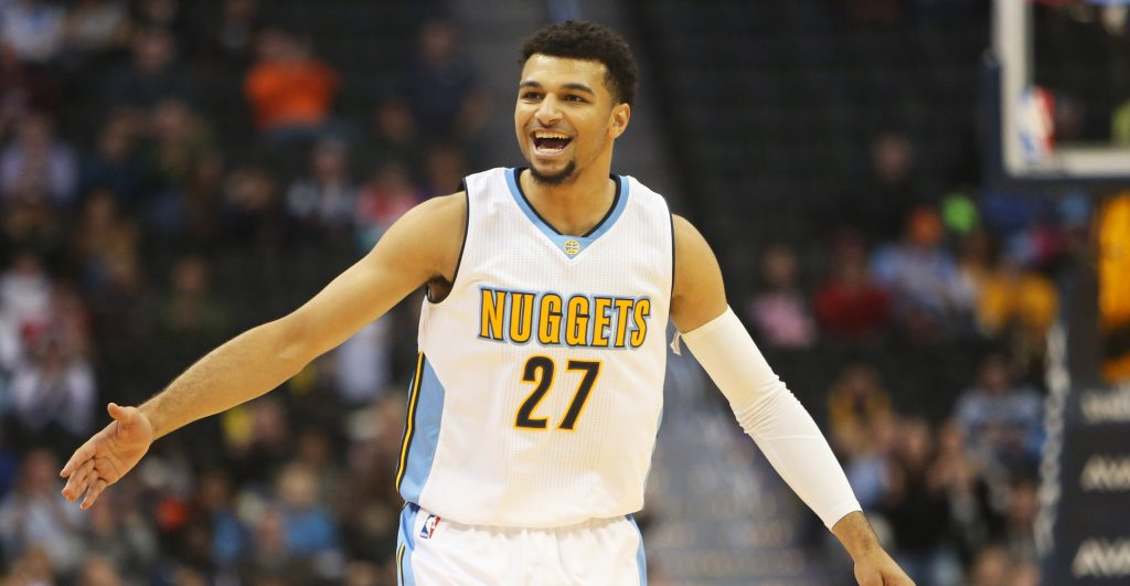 Jamal Murray takes home hardware for his breakout November