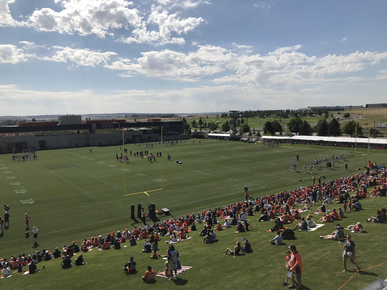Broncos training camp 2019