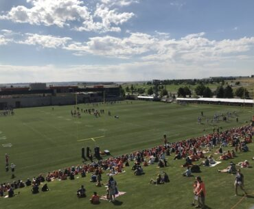 Broncos training camp 2019