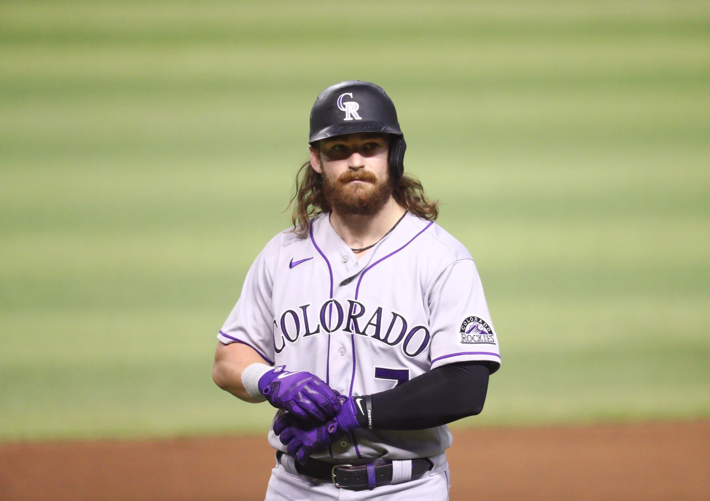 Antonio Senzatela Colorado Rockies Spring Training Baseball Player Jersey