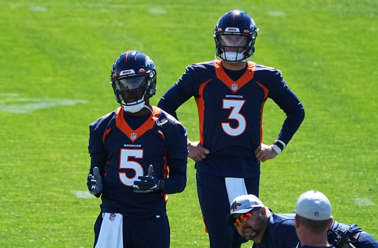 Broncos minicamp Day 2: Here's why giveaways could decide the QB competition